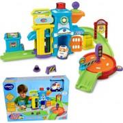 Vtech 61073 Tut Tut jucărie Mașini de poliție stație universală