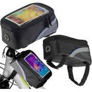 Fietsframe berg tas waterdichte voor smartphones