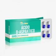 Ácido D-aspártico 500mg 60 Cápsulas