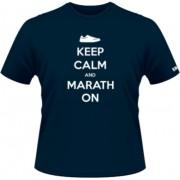 Keep calm an marathon - Albastru - SolS Regent - L