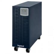 LEGRAND KEOR-S 6 kVA 17 perc BEM: 6mm2 KIM: 6mm2 RS232 SNMP szlot online kettős konverziós szünetmentes torony (UPS)