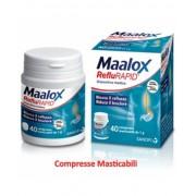 Sanofi Spa Maalox Reflurapid Senza Glutine Senza Lattosio Dispositivo Medico 40 Compresse Masticabili