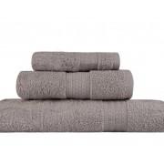 Set Prosoape De Baie Hobby Simplicity Grey, 100% bumbac, 3 bucati, gri