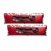 Kit Memoria RAM G.Skill Flare X DDR4, 2400MHz, 32GB (2 x 16GB), Non-ECC, CL16, Rojo