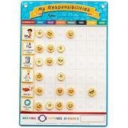 My Responsibilities Emoji Chore Chart - Kids Responsibility Chart