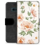 Samsung Galaxy S10e Premium Portemonnee Hoesje - Bloemen