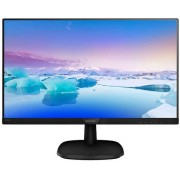 "Monitor IPS LED Philips 23.8"" 243V7QSB/00, Full HD (1920 x 1080), VGA, DVI, 8 ms (Negru)"