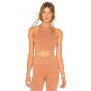 Free People Movement Nikki Femme Bra in Brown. - size XS-S (also in M-L)