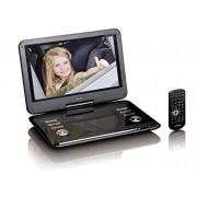 "Lenco DVP-1210 Portable DVD player Convertibile 12"" 1366 x 768Pixel Nero lettore DVD/Blu-Ray portatile"
