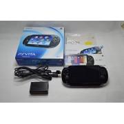 PlayStation Vita (PlayStation vita) Wi-Fi model Crystal Black (PCH-1000 ZA01) japan import