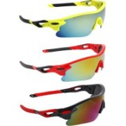 Abner Sports Sunglasses(Multicolor)