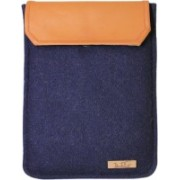 Dastkhat DA1150803 Mariner Ipad mini Laptop Bag(Navy Blue, Mustard)