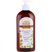 Green Pharmacy Body Care Calendula & Green Tea loción corporal rejuvenecedora con efecto fortalecedor 500 ml