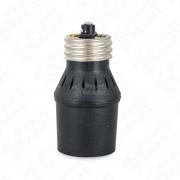 Porta Lampara IUSA 616063 Automático con Fotocelda. Sensible a Cambios de Luminicidad.-Negro