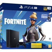 Consola Sony Sony PlayStation PS4 PRO 1TB Fortnite Neo Versa Bundle 4K HDR Black