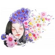 Gaira Malování podle čísel Květy ve vlasech M992844