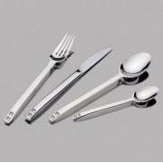 Комплект прибори HERDMAR SPIGA с бели кристали SWAROVSKI - 24 части
