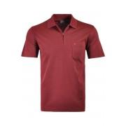 RAGMAN Regular Fit Poloshirt Kurzarm rot, Einfarbig