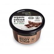 Scrub de corp delicios cu zahar si cacao Belgian Chocolate, 250 ml - Organic Shop