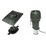 Vilpe 1004 ECO tetőventilátor szett páraelszívókhoz - zöld