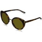 Ralph Lauren Sunglasses Women's Plastic Woman Sunglass Round, Havana Jerry, 52 mm