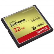 SanDisk 32GB Extreme Compact Flash Memory Card 120MB/s