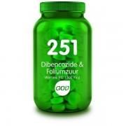 251 Dibencozide & Foliumzuur - 60 Zuigtabletten AOV
