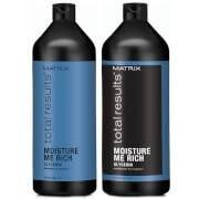 Matrix Biolage Matrix Total Results Moisture Me Rich Shampoo and Conditioner (1000ml)