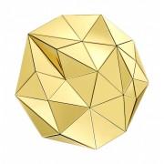 Oglinda design LUX Topanga auriu D-100cm 113434 HZ