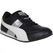 Puma Esito Men's Black and Silver Sports Shoes