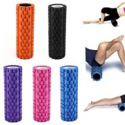 Yoga Foam Roller - Fitness Massage Foam Roller Therapy Yoga Gym Physio Injury Foam Roller High Quality- Multicolour