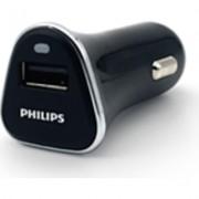 Philips автомобилно зарядно устройство за USB устройства, 5V/2.1A, с вкл. USB кабел