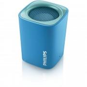 Philips Bluetooth безжична портативна колонка, съвместима с iPhoneSmartphones, цвят: син