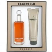 Karl Lagerfeld Lagerfeld Classic lote de regalo V. eau de toilette 100 ml + gel de ducha 150 ml