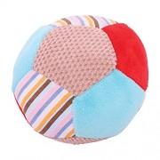 Bigjigs s BB517 Bruno Rattle Ball Soft Plush