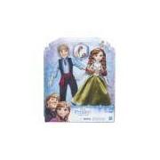 Bonecos Frozen Anna E Kristoff Hasbro - B5168