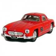 5 1954 Mercedes-Benz 300 SL Coupe 1:36 Scale (Red)