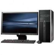 HP Pro 6300 Tower - Intel Core i7 - 4GB - 500GB HDD + 24'' Widescreen LCD