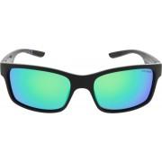 ICON Sport Zonnebril STORM - Zwart montuur - Groen / blauw spiegelende glazen - GEPOLARISEERD (p)
