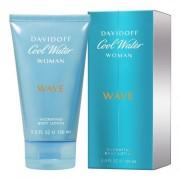 Davidoff Cool Water Wave Woman 150 ml telové mlieko pre ženy