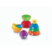 Fisher Price Brilliant Basics Stack And Roll Cups With Lots Of Enriching Discoveries