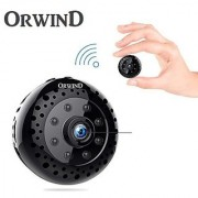 ORWIND INCHCAM SPY 5MP 1080P HD Wireless WIFI Hidden Easy Plug Play Spy Camera LIVE Night Vision Motion Sensor