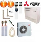 MITSUBISHI ELECTRIC Pack Climatiseur à faire poser Console Mitsubishi MFZ-KJ50VE
