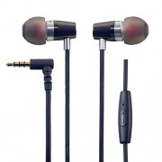 Rock Jaw Alfa Genus V2 Earphones with In-Line Mic & 3x Tuning Filters - British Engineered In-Ear Headphones