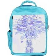 Snoogg Eco Friendly Canvas Summer Wars Designer Backpack Rucksack School Travel Unisex Casual Canvas Bag Bookbag Satchel 5 L Backpack(Blue)