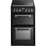 Stoves Richmond MiniRange 550E Black Ceramic Electric Cooker with Double Oven