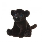"""Sitting Bean Bag Black Panther 10"""" by Fiesta"""