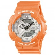 Casio G-SHOCK Standard Analog-Digital Montre GA-110SG-4A - Orange