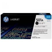 HP 501A svart LaserJet-tonerkassett, original