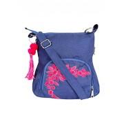 Pick Pocket Women'S Sling Bag (Blue,Slbluremb79)